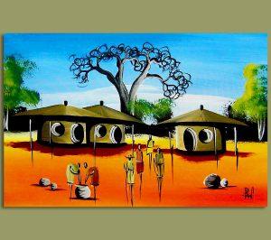 african-art-village-scene2